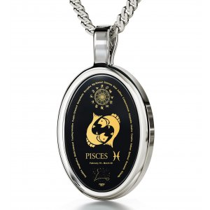Nano Jewelry Pisces Zodiac Necklace