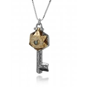 Key to Prosperity necklace by Ha'Ari