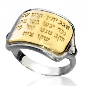 Ana Bekoach Kabbalah Ring by Ha'Ari