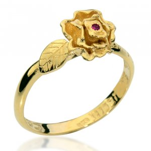 Kabbalah Rose Ring - Song of Songs by Ha'Ari