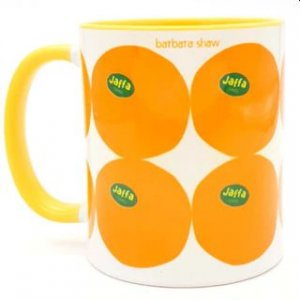 Coffee Mug with Jaffa Oranges - Barbara Shaw