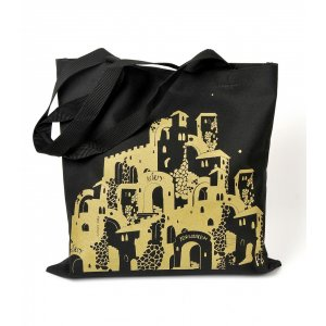 Canvas Tote Bag, Jerusalem Images - Barbara Shaw
