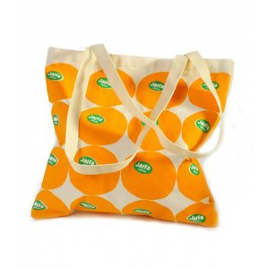 Jaffa Oranges Canvas Tote Bag - Barbara Shaw