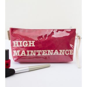 Makeup Pouch, High Maintenance - Barbara Shaw