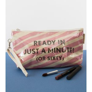Ready In Just A Minute Makeup Pouch - Barbara Shaw