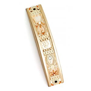 Curved Mezuzah Case by Shahaf
