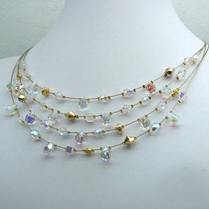 Bridal Sparkle Necklace by Edita
