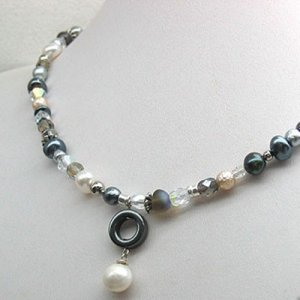 Pearl Dusk Necklace by Edita