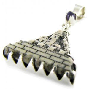 Moreno Jerusalem Stone Necklace - Holy City