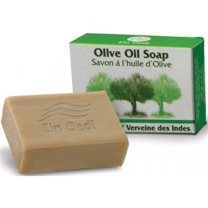 Olive Oil and Lemongrass Ein Gedi Soap