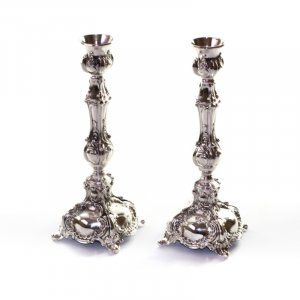 Silver Plated Decorative Candlesticks