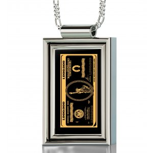 Million Dollars Pendant for Men