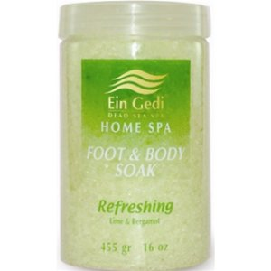 Foot and Body Soak with Bergamot by Ein Gedi