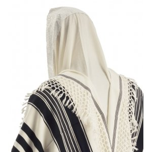 Talitania Yemenite Tallit with Net Fringes