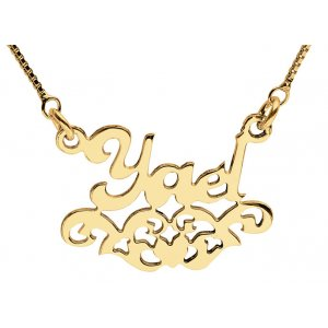 Gold Filled Personalized Necklace with Decoration
