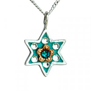 Ester Shahaf Star of David Necklace
