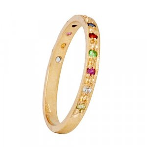 Colorful Stones Choshen Ring