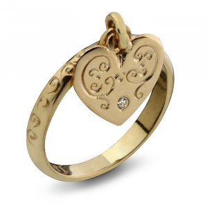 Kabbalah Heart Ring