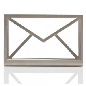 Inbox Table Stand for Incoming Mail