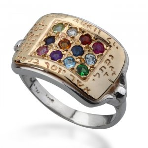Hoshen Jewish Ring by HaAri Jewelry
