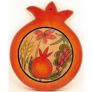 Seven Species Pomegranate Shape Cutting Board - Kakadu
