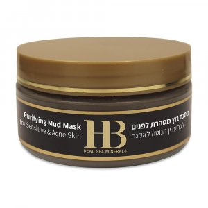 H&B Dead Sea Mud Mask for Acne Skin