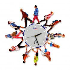 David Gerstein Walkers Wall Clock