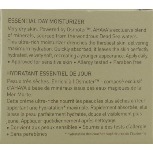 Essential Day Moisturizer for Very Dry Skin - Ahava