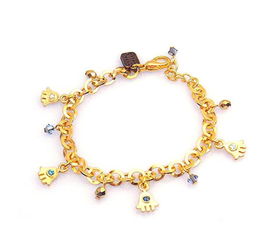 Hamsa Charm Bracelet Edita