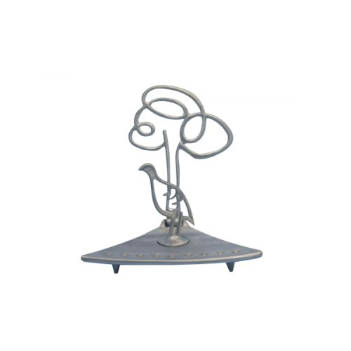 Hanukkah Menorah Partridge Bird and Olive Tree, Flexible - Shraga Landesman