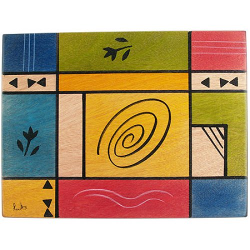 Modernini Rectangular Placemat - Kakadu