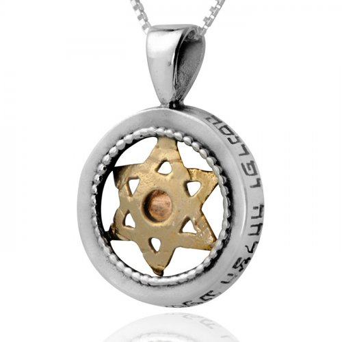 Protection Star of David Pendant- Ha'Ari