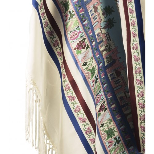 Seven Species Tallit by Talitania