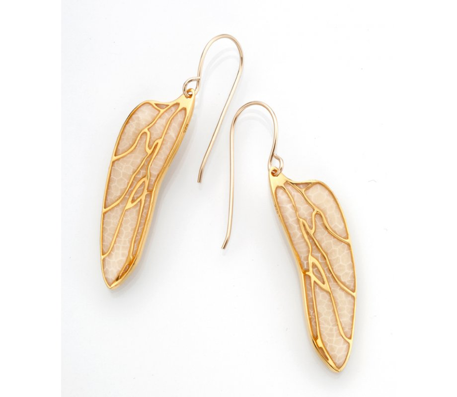 Small Dragonfly Wing Earrings By Adina Plastelina Canaan Online Com