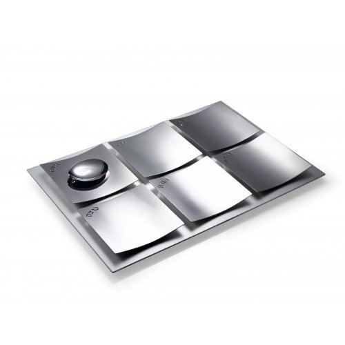 Stainless Steeel Seder Plate by Laura Cowan