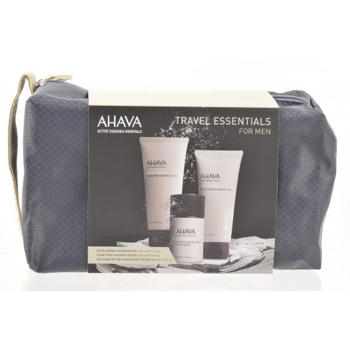 TRAVEL ESSENTIALS Kit for Men by AHAVA