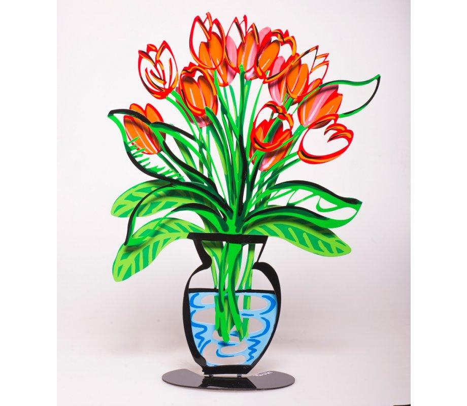 Tulip Vase By Tzuki Art Red Canaan Onlinecom